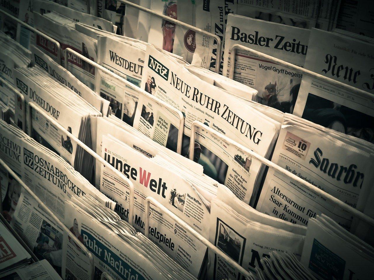 news, daily newspaper, press